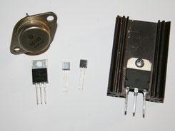 Verschiedene Transistoren
