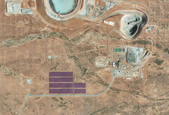 Sandfire Resources' DeGrussa mine with PV array from JuWi (c) JuWi