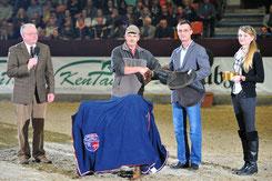 Auch in diesem Jahr gibt es wieder wertvolle Produkte von Kentauer zu gewinnen. Foto: Pferdezuchtverband Brandenburg-Anhalt e.V.