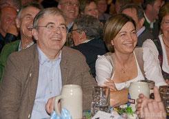 Bürgermeister Franz Krah und seine Frau Trixi