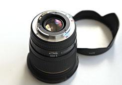 Sigma AF 20/1.8 EX DG