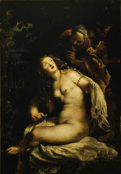 Peter Paul Rubens Susanna e i vecchioni 1606-1607 Olio su tela 94x67 cm. Roma, Galleria Borghese