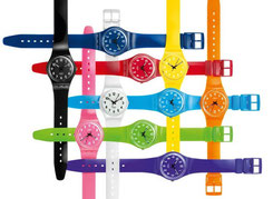 Montres SWATCH multicolores