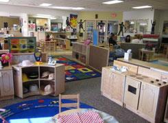 マーセッド大学内の託児施設