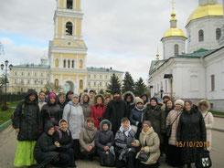 В Серафимо-Дивеевском женском монастыре.