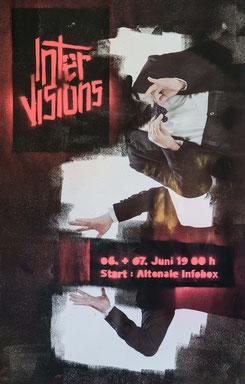 Intervisions #2, Foto von Jakob Weiss, Performance von Nicole Janze