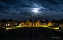 Orangerie Gotha im Mondlicht
