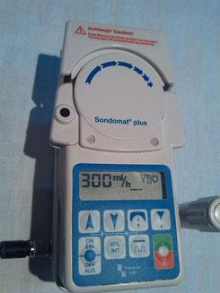 Sandomat Plus Ernährungspumpe medizinischer Bedarf für Krankenhaus und Praxis