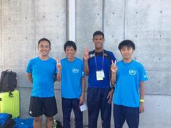 3000mSCにて2・3・4位に入賞した選手達