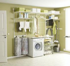 Regalsystem für Waschküche