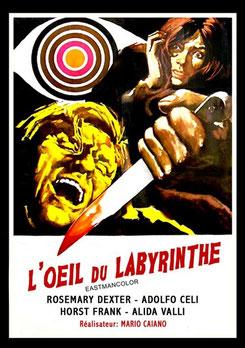 L'Oeil Du Labyrinthe de Mario Caiano - 1972 / Giallo - Horreur