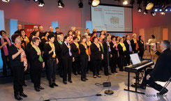 Kienzlchor Waizenkirchen beim ORF OÖ - Finale der Aufweckchöre 2017
