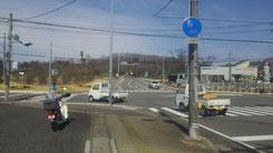 矢板市の長峰公園入口です。駐車場は入ってすぐ右側にあります。