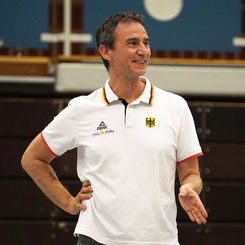 Paul Larysz beim ersten Training in Stade. (Foto: Fromme)