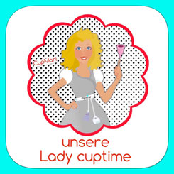 Lady Cuptime Menstruationstasse Tagefänger cuptime cup up your life Menstruation Beratung Informationsseite Menstruationskappe Menstruationsbecher Lady nature Monatsblutung