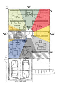 Pa Kua, Bagua für Feng Shui Fehlbereiche und hilfreiche Erweiterungen bei Neubau, Umzug oder Umbau