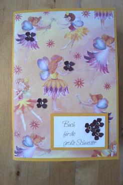 Ein selbstgemachtes Heft für die frischgebackene große Schwester - Patricia Stich 2015