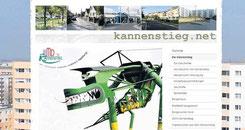 Unter www.kannenstieg.net informieren Sabine Insinger und Maik Twelkmeyer über die Geschehnisse im Stadtteil.