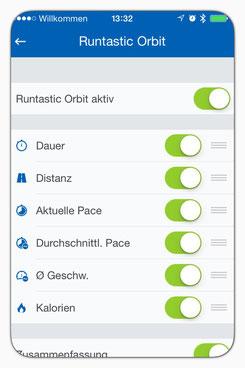 How to: Connect Runtastic Orbit with the Runtastic-app: www.sportspunk.de