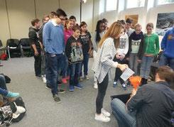 Vielleicht eine Berufsperspektive? Unsere Schüler erkundeten Einrichtungen aus dem Bereich Umwelt- und Energieschutz