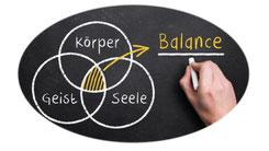 Balance, Körper, Geist, Seele