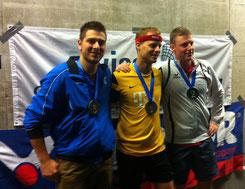 Herren: 3. Michel Buess (SUI), 1. Martin Pollok (GER), 2. Ivo Junker (SUI)