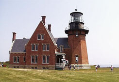 Block Island's Southeast Light House
