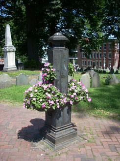 Copp's Hill Burial Ground in the North End