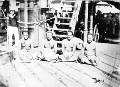 Geiseln an Bord der SMS Bismarck