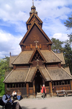Stabkirche im Folkemuseum