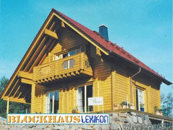 Holzhaus in Blockbauwaise - Blockhaus bauen - Wohnblockhaus in Hessen