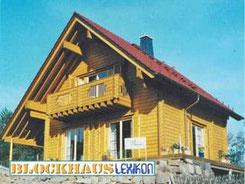 Holzhaus in Blockbauwaise - Blockhaus bauen - Holzbau - Hausbau - Wohnblockhaus in Hessen
