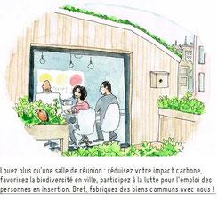 la coopérative Baraka, fabrique de biens communs et restaurant bio à Roubaix