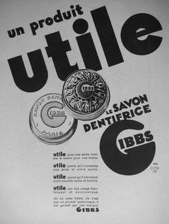 Publicité de 1932