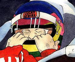 Jacques Villeneuve by Muneta & Cerracín