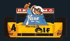 René Arnoux  by Muneta & Cerracín