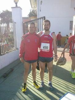 Manolo Serrano a la izq, y Rafael Valverde a la der.PINCHA MÁS FOTOS