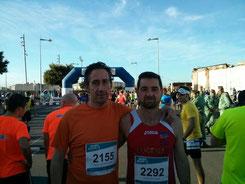 Rafael Valverde a la derecha de la imagen.