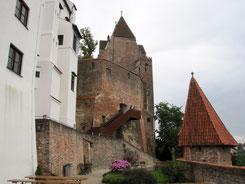 Burg Trausnitz, Fürstenbau und Wittelsbacher-Turm