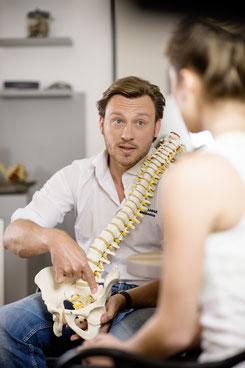 Osteopathie Post Anamnesegespräch
