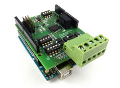 RS422  RS485 Shield Arduino isolated interface