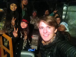 Weihnachten BBQ in Pokhara mit nepalesischer Gastfamilie