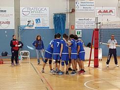 La formazione dell'u16 di coach Mauri