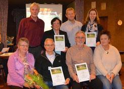 Die Preisträger aus dem Gartenverein Geesthelle e. V.