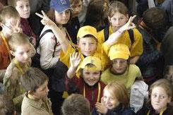 Bild von der Kinder Uni in Dresden:                         kinder tu-dresden.de