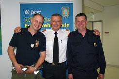 Hannes Pucher, Dietmar Fahrafellner, Johann Waschl (von links)