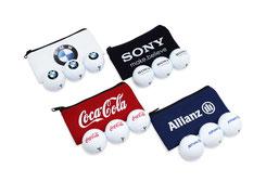 Golfbeutel, Golfstartgeschenk, Golfball verpackung, Golf Beutel, Golfwerbemittel, Golfbälle im Beutel