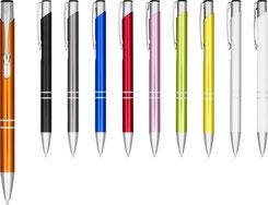 Kugelschreiber bedrucken lassen, Kugelschreiber mit Logo, Kugelschreiber bedruckt, Kugelschreiber Werbemittel, Kugelschreiber mit Klick