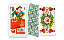 Skat, Skat Karten, Spielkarten, Spielkarten mit Logo, Spielkarten bedrucken, Spielkarten bedruckten, Skat, Skat Classic, Spiel des Jahres, Werbespielkarten, Werbemittel Spielkarten, Logo Spielkarten