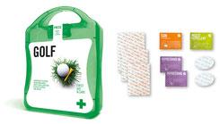Golf Startgeschenke, Golfgeschenk, Golf Startgeschenke bedrucken, Erste Hilfe Set Golf,  Golfgeschenk, Golfartikel mit Logo, Logo Golfartikel, Erste Hilfe Set